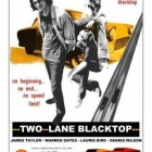 Two Lane Blacktop film poster