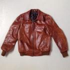 Vintage Brown leather Jacket  1