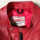 Damen Vintage Red Racer Jacket5