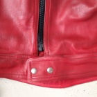Damen Vintage Red Racer Jacket4