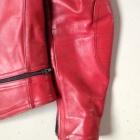 Damen Vintage Red Racer Jacket2