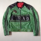 Furygan leather jacket front.