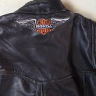 Honda patched biker backpatch