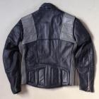 MQP vintage leather biker back