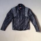 MQP vintage leather biker front