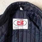 MQP vintage leather biker front inside