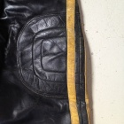 vintage motocross leather pants hip protection