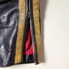 vintage motocross pants leg lower zipper