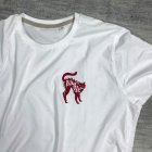 Rumble White Cat T-Shirt2