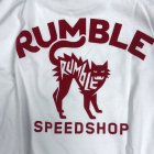 Rumble White Cat T-Shirt5
