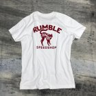 Rumble White Cat T-Shirt6
